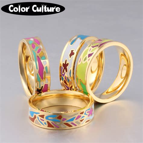 Jewelry Colour Culture aliexpress buy the new stainless steel rings jewelry