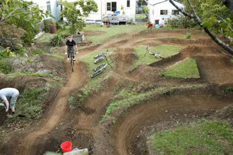backyard bmx track design backyard pump track google search backyard pumptrack