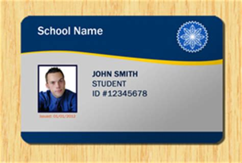 Ohio Id Card Photoshop Template by Student Id Template 1 Other Files Patterns And Templates