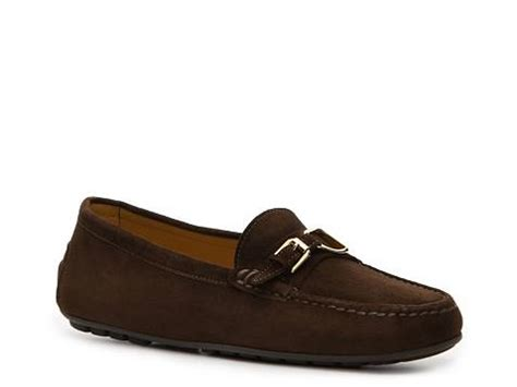womens loafers dsw ralph collection s lanelle suede loafer dsw