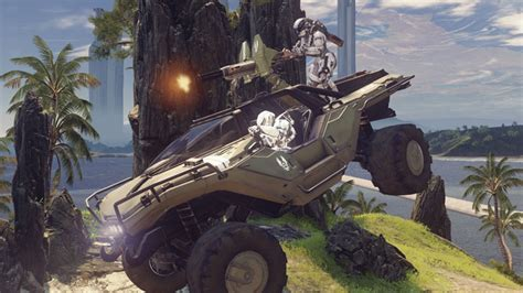 halo 4 warthog chaingun weapons universe halo official site