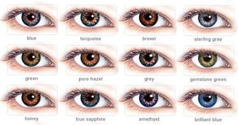 real eye color chart | labels: contact lenses colors