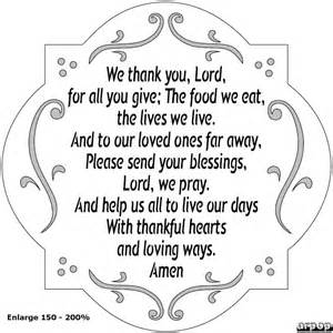 best thanksgiving prayers we thank you lord more than sayings