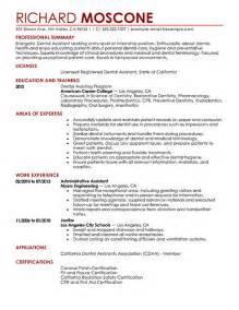 Dental Assistant Resume Sample Dental Assistant Resume Examples Medical Sample Resumes
