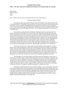 Writing History Essay by How To Write An Essay On History Sle Essay Narrative