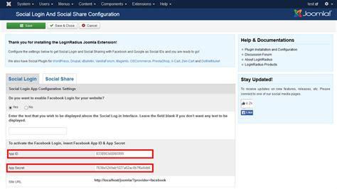 Template Joomla Login | joomla 3 x как настроить вход в систему facebook в