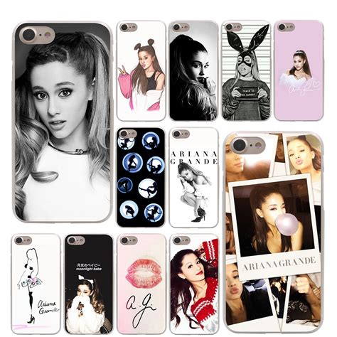 lavaza kpop exo lucky one hard coque shell phone case for lavaza cat ar ariana grande hard phone cover case for
