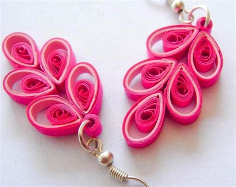 Earrings With Paper - paper quilling earrings designs and ideas chilli