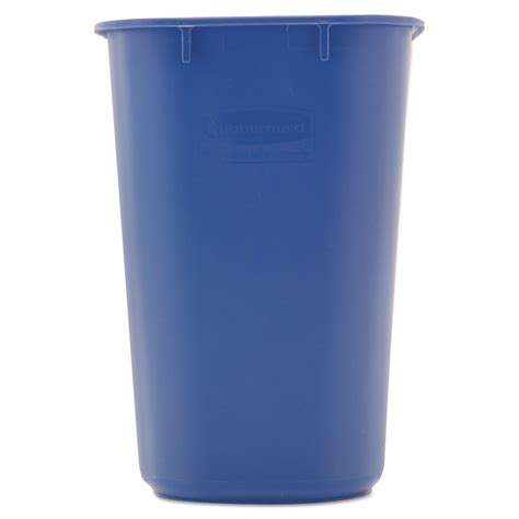 blue rubbermaid small small deskside recycling container by rubbermaid