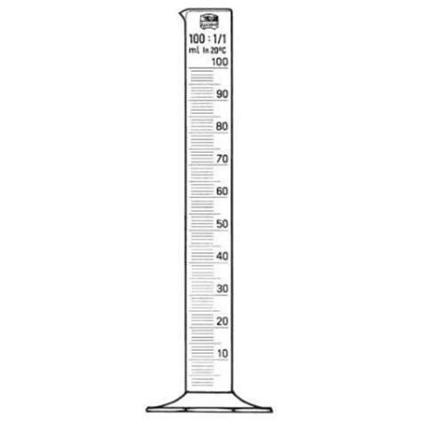 Gelas Ukurmeasuring Cylinder 100 Ml m 229 leglas hf 100ml