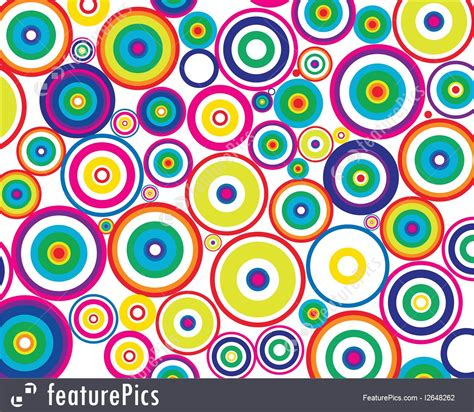 abstract patterns circles background stock illustration