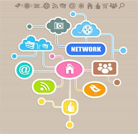 design a logo application internet application icon logo design free vector