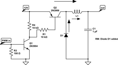 pwm inductor current led how to build led dimmer for room illumination pwm low pass filter electrical