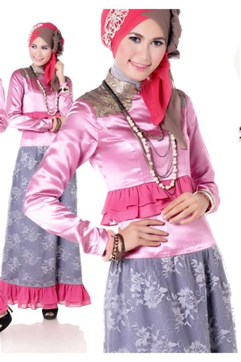 Zoya Kebaya Ungu Cp Batik Zoya Ungu contoh gambar model baju muslim untuk pesta 2015