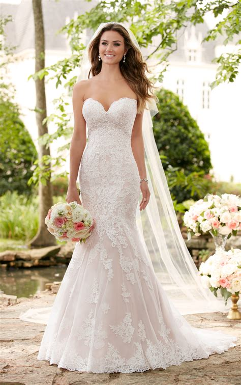 wedding dresses romantic lace wedding gown stella york