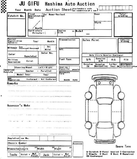 car service check sheet template best photos of vehicle check in sheet template vehicle