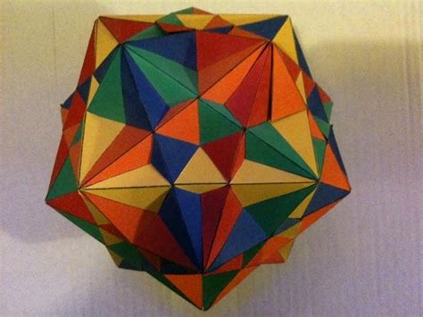 Origami Square - 30 square sliding modular origami 171 math craft wonderhowto