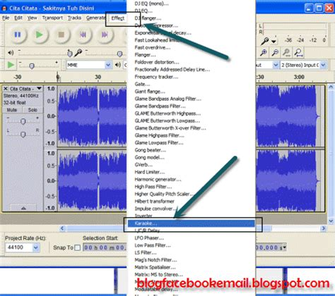 membuat database lagu karaoke cara paling mudah menghilangkan suara vocal pada lagu mp3