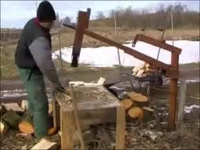 Farm Table Sf Liveleak Com Homemade Manual Wood Splitter From Ukraine