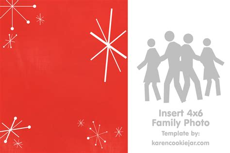 Blank Christmas Card Template Templates Data Free Photo Card Templates