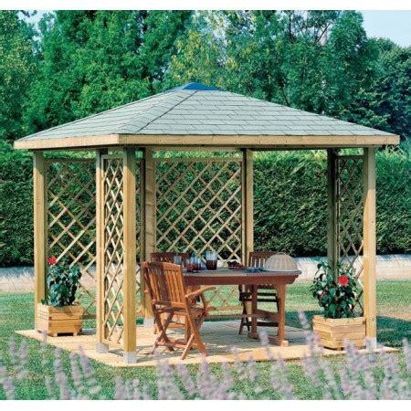 coperture per gazebi in legno gazebo cherry in legno impregnato con copertura perlina e