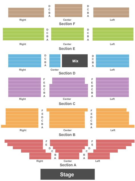 theatre royal seating chart concert venues in royal oak mi concertfix