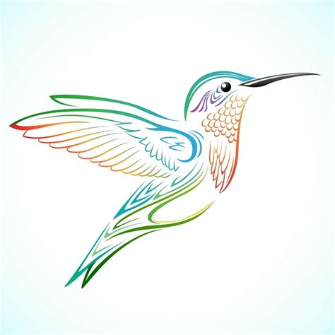 hummingbird tribal tattoo tribal hummingbird drawing www pixshark