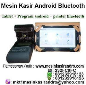 Printer Kasir Android ribbon 110mmx300mm wax fo mesin kasir andro surabaya printer barcode kertas kasir