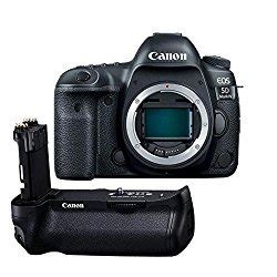 Canon EOS 5D Mark IV DSLR Body ? With Canon BG E20 Battery