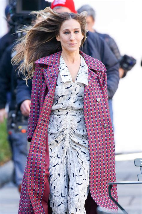 The New Sjp by On The Set Of Divorce In New York