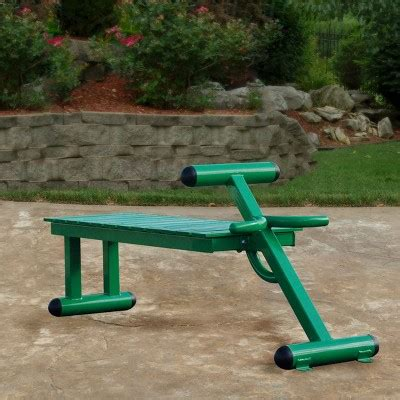 outdoor workout bench stamina 174 outdoor fitness bench target