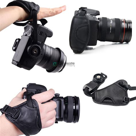 cameras leather grip wrist for canon nikon sony pentax olympus dslr ebay