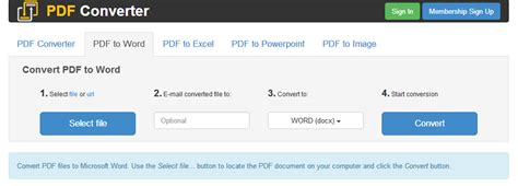 convert pdf to word free no sign up website to convert pdf to word sinointergr over blog com