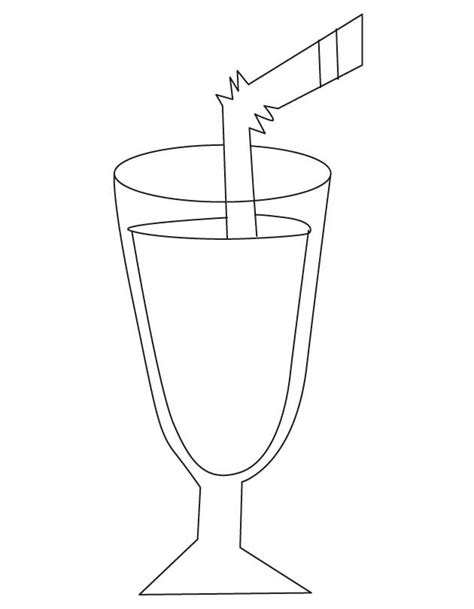 coloring orange juice coloring pages