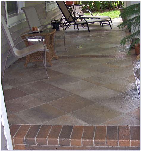 Can You Tile Concrete Patio by Outdoor Tile Concrete Patio Patios Home Design