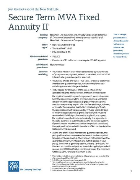 new york annuities how to apply for a new york annuity