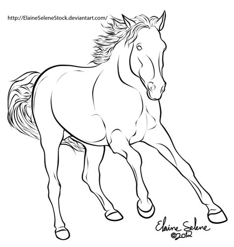 rearing pegasus coloring pages
