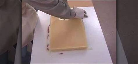 Rubber Sculpture Block how to make a one block mold out of urethane rubber