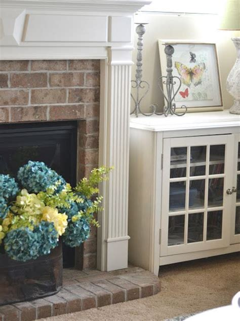 Modern Country Fireplace by Creating A Modern Country Farmhouse Living Room