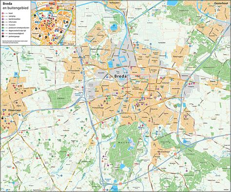 breda netherlands on map large breda maps for free and print high