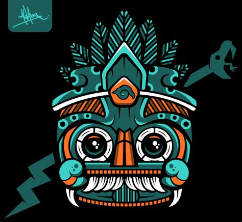tlaloc t shirt on behance