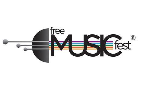 design a music logo for free free music fest on behance