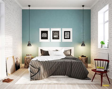 light blue scandinavian bedroom design jpg