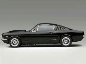 Ford Mustang 65 Ford Mustang Fastback 65 With Cammer Engine Matte Style