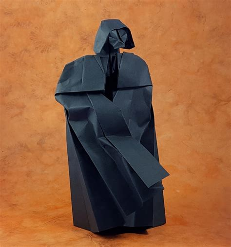 Origami Darth Vader - origami database gilad s origami page
