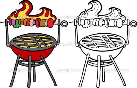 barbecue clipart free bbq grill with clipart clipart panda free clipart