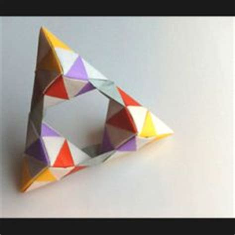 Origami With Construction Paper - geometry things you can make on origami