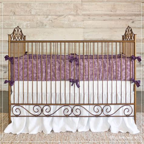 Wrought Iron Baby Crib Casablanca Premiere Iron Baby Crib Gold Contemporary Cribs Baltimore By Bratt Decor Inc