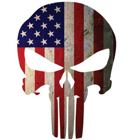 Punisher Skull American Flag Decal American Flag Punisher Skull Window Decal Ems Viny Graphics Stickers Decals