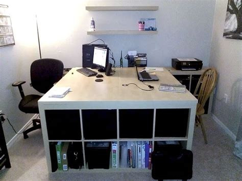 ikea hack computer desk ikea hack computer desk for 2 home adorables